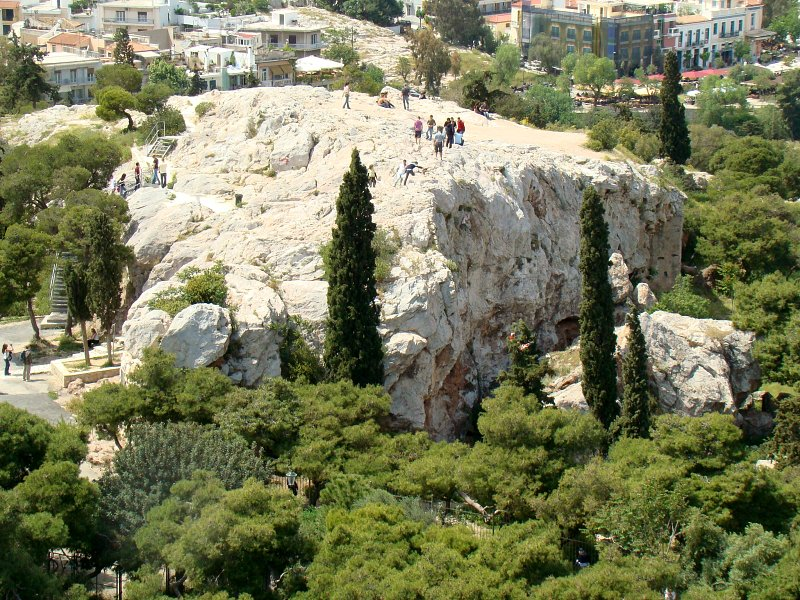 photo of the Athenian Areopagus