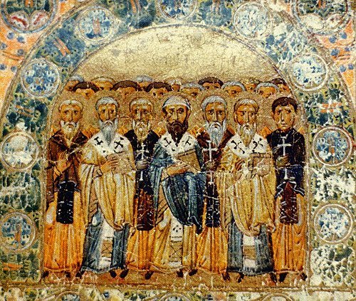 icon of the Church Fathers